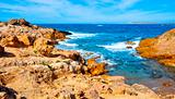 Binimela coast in Menorca, Balearic Islands, Spain