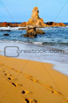 Cala Pregonda beach in Menorca, Balearic Islands, Spain
