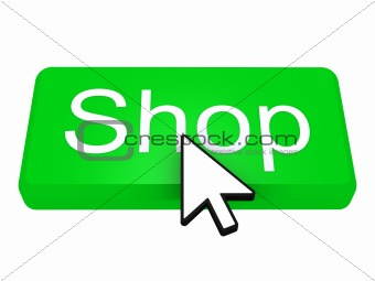 Shop button with cursor