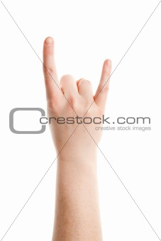 Rock and Roll gesture