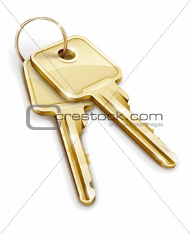 Sheaf of gold keys