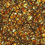 Stained glass texture in a gold tone. EPS 8