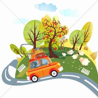 trip by car