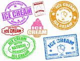 Ice cream stamps