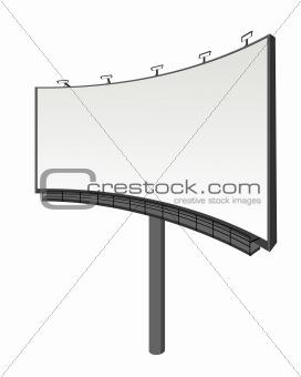 Perspective view billboard