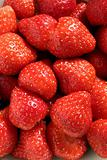 Strawberries, close view