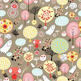 pattern of the fairy forest