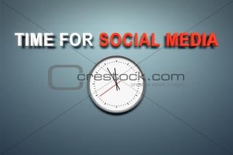 Time for social media at the wall