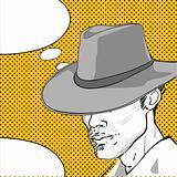 cowboy pop art dialog