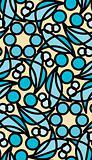 Stainglass Shells Pattern