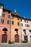 Alleyway. Brisighella. Emilia-Romagna. Italy.