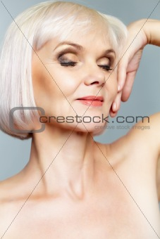 Glamorous mature lady