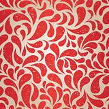 red vintage wallpaper