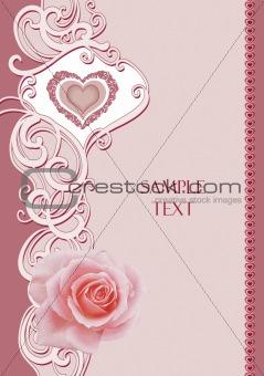 frame rose