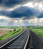 railroad to horizon