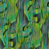 Greenish seamless relief abstract.