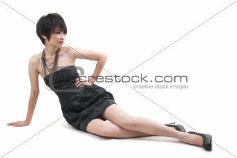 Asian Woman in fashion