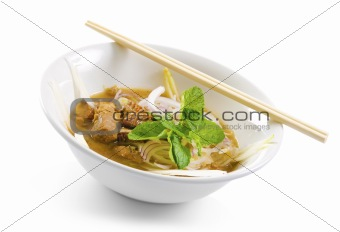Asian Spicy Soup Noodles