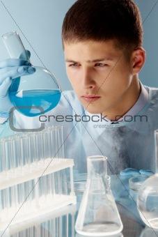 Cyan substance