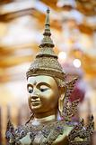 Head of Buddha statue