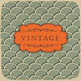 Vintage style background with scale pattern.