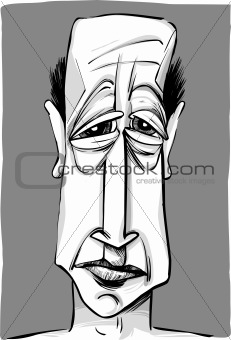 old man caricature