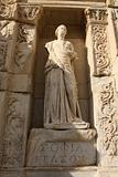 Statue from Library of Celsus 