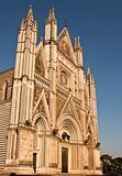 Facade Of The Orvieto Duomo