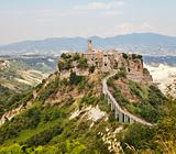 Hill Town Of Civita in Umbria
