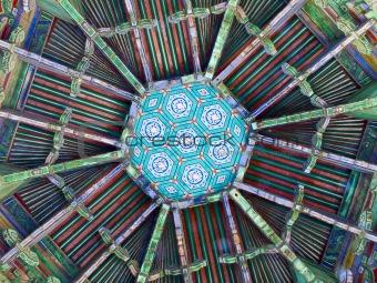 Pagoda Ceiling Pattern