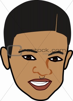 AFRICAN-AMERICAN BOYS FACES