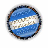 New successful purchase icon