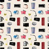 Household appliances seamless pattern