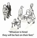 Hiring chairs