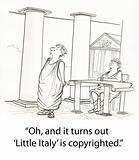 Copyright Italy