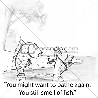 Fish smell