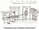 Teacher of year