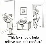 Fax conflict