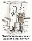 Mention pants