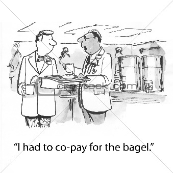 Co-pay bagel