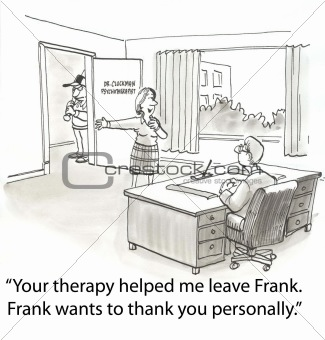 Thank therapist