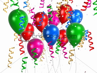 Image 460140: celebration balloons from Crestock Stock Photos