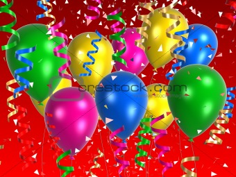 Image 460141: celebration balloons from Crestock Stock Photos