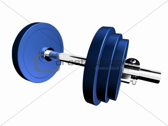 blue barbell