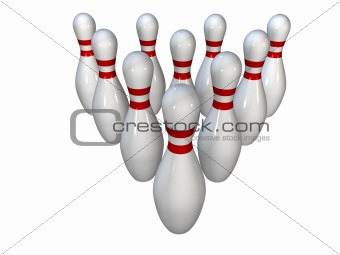 bowling pins