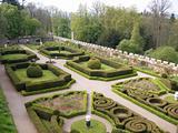 View of a Castles Garden