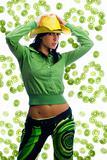 kiwi and green