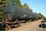 Tanker Train Car
