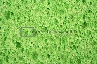 Green sponge textured background