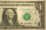 Front Half one dollar bill